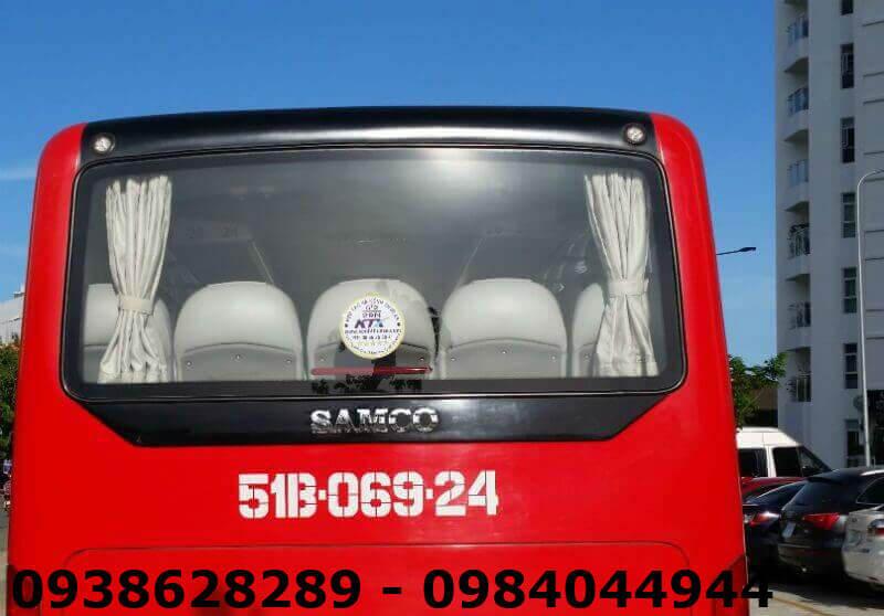 Bảng Giá Cho Thuê Xe Đám Cưới tại Tphcm xe 29 chỗ Samco Isuzu