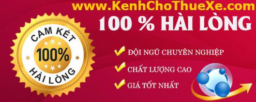 Bảng Giá Thuê Xe Tại Tp Hồ Chí Minh